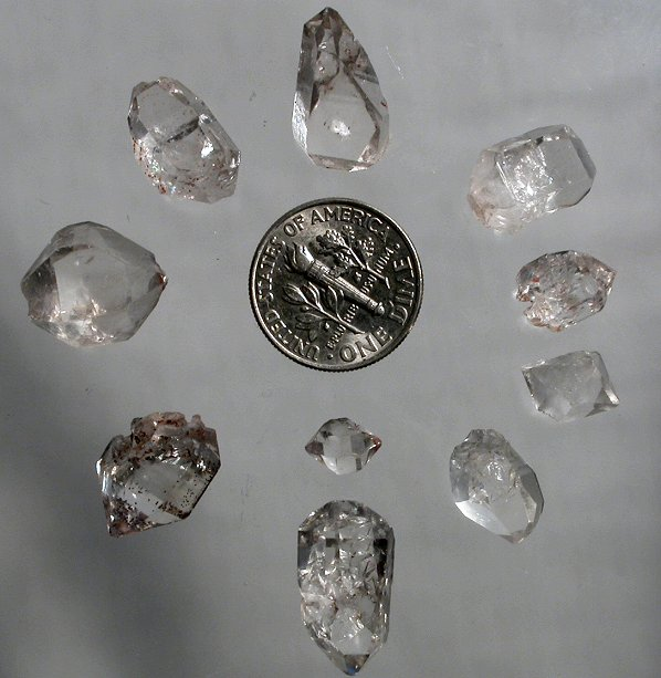 ontario diamond hilltribe products quartz herkimerquartzdiamondcluster large herkimer new york newyork cluster